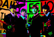 Beatles Digital Art - Beatles-Echo by Che Rellom