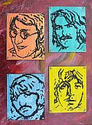 Beatles Mixed Media Originals - Beatles Forever by Cary Singewald