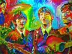 Beatles Art - Beatles Impressionism by Leland Castro
