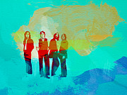Beatles Print by Naxart Studio