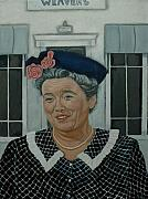 Andy Griffith Show Paintings - Beatrice Taylor as Aunt Bee by Tresa Crain