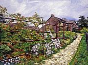English Cottages Prints - Beatrix Potter House Print by David Lloyd Glover