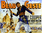 1939 Movies Photos - Beau Geste, Gary Cooper, 1939 by Everett
