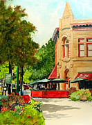 Fort Collins Painting Framed Prints - Beau Jos Down Low Framed Print by Tom Riggs