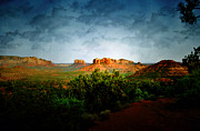 Desert Digital Art - Beautiful Arizona by Ellen Lacey