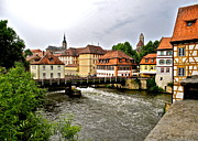 Bamberg Photos - Beautiful Bamberg on the River by Kirsten Giving