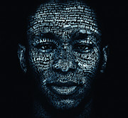 Typography Digital Art - Beautiful Boogieman by Cris  Wicks