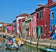 Lanis Rossi Prints - Beautiful Burano Print by Lanis Rossi