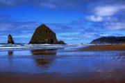 Sandy Beaches Posters - Beautiful Cannon Beach Poster by David Patterson