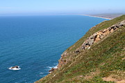 Headlands Prints - Beautiful Coastline of Point Reyes California . 7D16017 Print by Wingsdomain Art and Photography