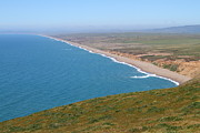 Headlands Prints - Beautiful Coastline of Point Reyes California . 7D16028 Print by Wingsdomain Art and Photography
