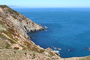 Headlands Photos - Beautiful Coastline of Point Reyes California . 7D16036 by Wingsdomain Art and Photography