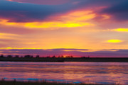 Sunset Posters Framed Prints - Beautiful Colorful Boulder County Winter Morning Framed Print by James Bo Insogna