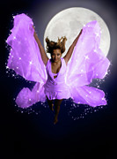 Dreamscape Metal Prints - Beautiful Fairy Metal Print by Oleksiy Maksymenko