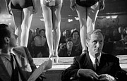 Photography Of Woman Framed Prints - Beautiful Legs Framed Print by Thurston Hopkins