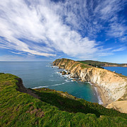 Point Reyes Framed Prints - Beautiful Point Reyes Scenic Framed Print by Matt Tilghman