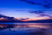 Beautiful Sea In Twilight Print by Mongkol Chakritthakool