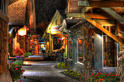 Gatlinburg Tennessee Prints - Beautiful Shopping Print by Greg and Chrystal Mimbs