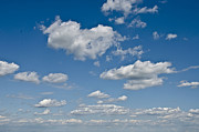 Bluesky Metal Prints - Beautiful Skies Metal Print by Bill Cannon