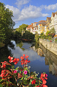 Riverbanks Framed Prints - Beautiful Tuebingen in Germany Framed Print by Matthias Hauser