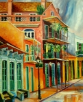 Architeture Prints - Beautiful Vieux Carre Print by Diane Millsap