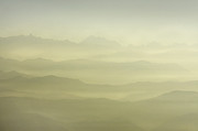 Outlook Photos - beautiful view of the foggy mountain sunrise in Kathmandu Valley by Anastasiia Kononenko