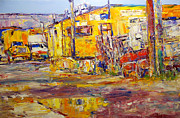 Ballard Paintings - Beauty Alley 2 by Beth Betker