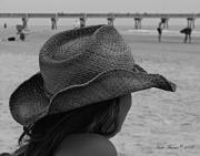 Jacksonville Florida Prints - Beauty and The Beach  Print by Nada Frazier