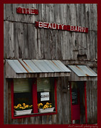 Clarksville Framed Prints - Beauty Barn Framed Print by Sheri Bartoszek
