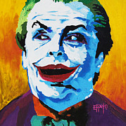 Jack Nicholson Painting Originals - Beauty by Erik Pinto
