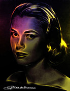 Grace Kelly Art - Beauty forever by Stefan Kuhn