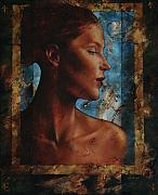 Period Painting Framed Prints - Beauty In Profile Framed Print by Stuart Gilbert