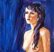 Topless Paintings - Beauty by Mary Giacomini