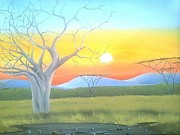 Hilton Mwakima Art - Beauty of Africa by Hilton Mwakima