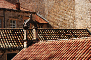 Tile Roof Framed Prints - Beauty Of Dubrovnik 2 Framed Print by Bob Christopher