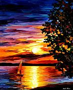 Afremov Art - Beauty Of Night by Leonid Afremov