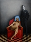 Nude Paintings - Beauty of the Carnival by Horacio Cardozo