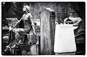 Paris Cemetery Art Framed Prints - Beauty of the Cemetery Framed Print by John Rizzuto
