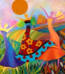 Dance Mixed Media - Beauty Through Her Seasons by Anne Nye