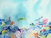 Beauty Under The Ocean Print by Renate Pampel