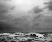 Seascape. Winter Prints - Beautys Dark And Deep Print by Zeb Andrews