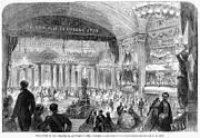 Beaux Arts Ball, 1861 Print by Granger