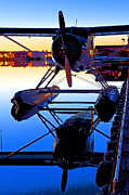 Aircraft Radial Engine Framed Prints - Beaver at Twilight- Abstract Framed Print by Tim Grams