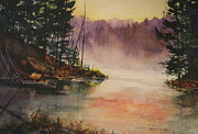 Beaver Pond Paintings - Beaver Pond Hiking Trail Algonquin Provincial Park by Madelaine Alter