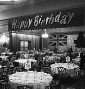 Party Birthday Party Metal Prints - Beaverbrook Bash Metal Print by Express