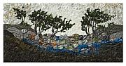 Rock Tapestries - Textiles Originals - Bebb Willow by Lorraine Roy