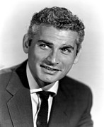 1952 Movies Photo Framed Prints - Because Of You, Jeff Chandler, 1952 Framed Print by Everett