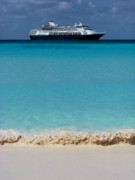 Half Moon Cay Prints - Beckoning Print by Karen Wiles
