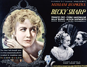 Becky Prints - Becky Sharp, Miriam Hopkins, Cedric Print by Everett