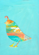 Abstract Originals - Becoming Quail by Jennifer Lommers